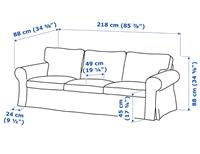 Picture of Three seater sofa